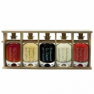 Apotheker 40ml Bottle Rack (Poplar)