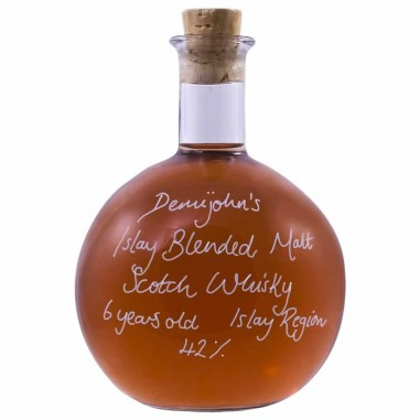 Demijohn's 6 Year Old Islay Blended Malt Scotch Whisky 42%
