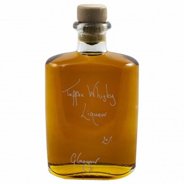 Hipflask of Toffee Whisky Liqueur