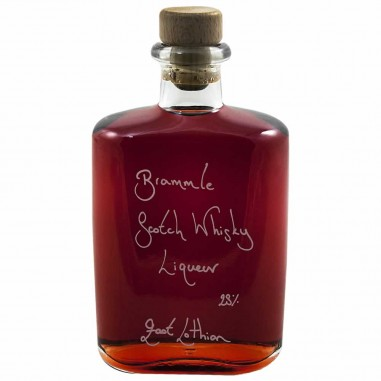 Hipflask of Bramble Scotch Whisky Liqueur