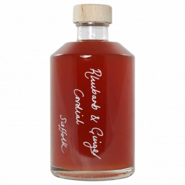 Rhubarb and Ginger Cordial (375ml)