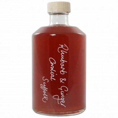 Rhubarb and Ginger Cordial (500ml)