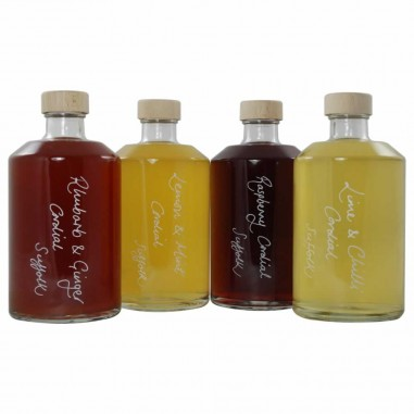 Handmade Cordial Selection (4 x 500ml flavours)