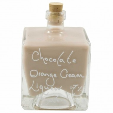 Chocolate Orange Cream Liqueur 17% (100ml Mystic bottle)