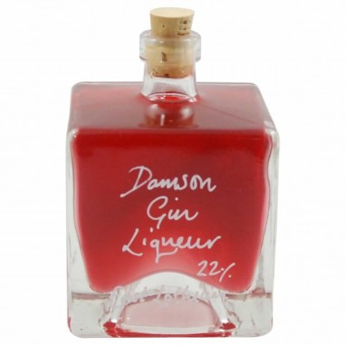 Damson Gin Liqueur 22% (100ml Mystic bottle)
