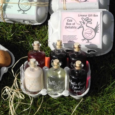 Egg Box of Delights - Liqueur Gift Set