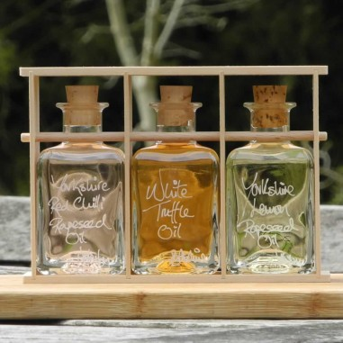 Infused Rapeseed Oil Gift Set
