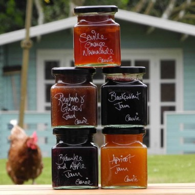Set of 5 Scottish Jams and Marmalades