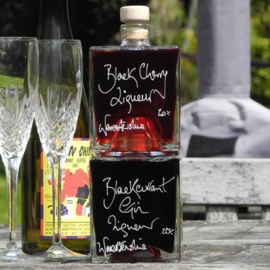 Black Cherry and Blackcurrant Gin