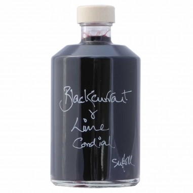 Blackcurrant & Lime Cordial