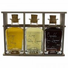 Verdi 200ml Bottle Rack (Poplar)