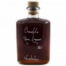 Hipflask of Chocolate Rum Liqueur