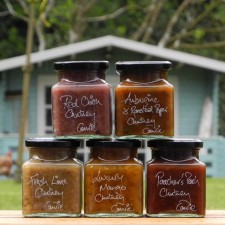 Set of 5 Scottish Chutneys