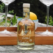 A Nocturne of Lime Vodka Liqueur