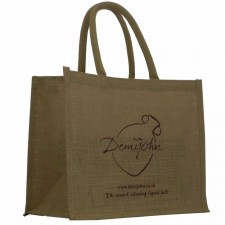 Demijohn Fair Trade Jute Shopping Bag