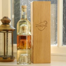 Citrus Sundowner Cocktail Set with Oak gift box