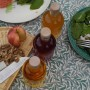 Raspberry, Apple and Walnut Oil Salad Dressing