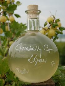 Our new Gooseberry Gin. Go on, give it a Goo!
