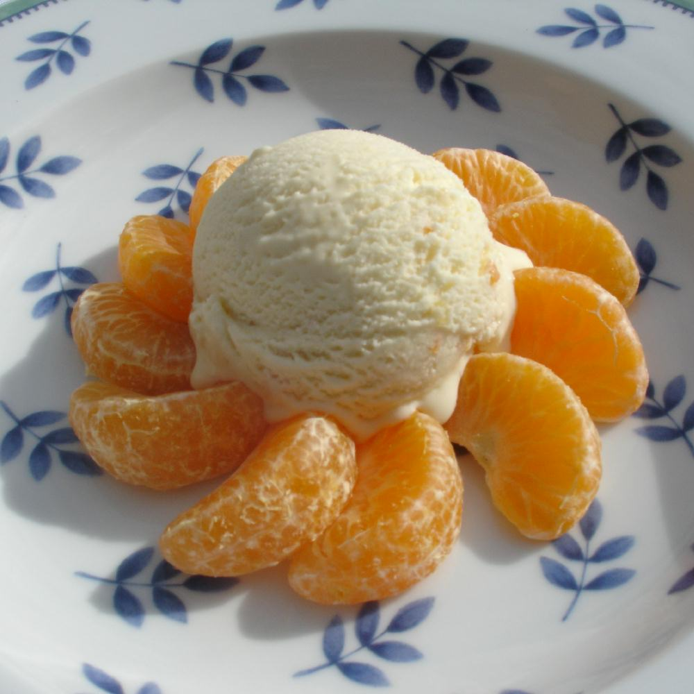 Seville Orange Marmalade Ice Cream