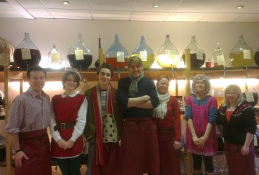 Our York Shop Team in high spirits!