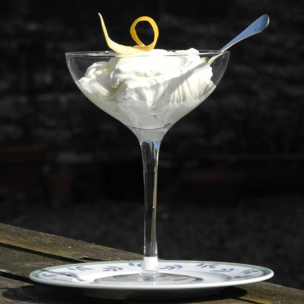 Mead and Lemon Syllabub