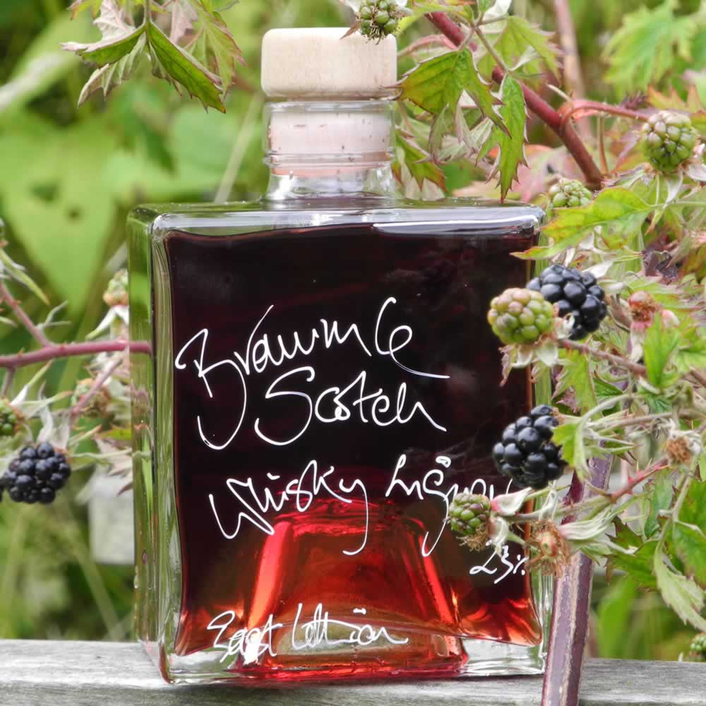 Bramble Scotch Whisky Liqueur, a little medicine against Winter's fury?