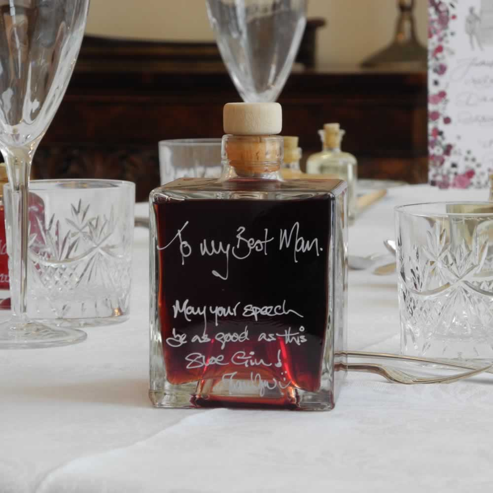 Best Man Gift Ideas - A Mystic 500ml bottle of Sloe Gin