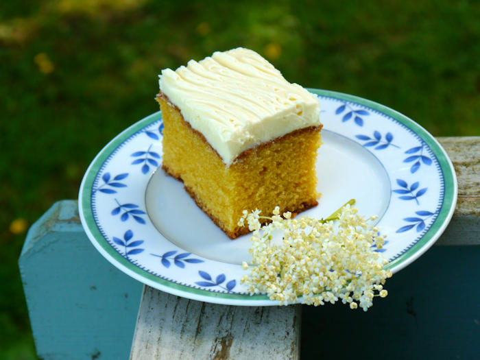 Elderflower and Lemon Cake