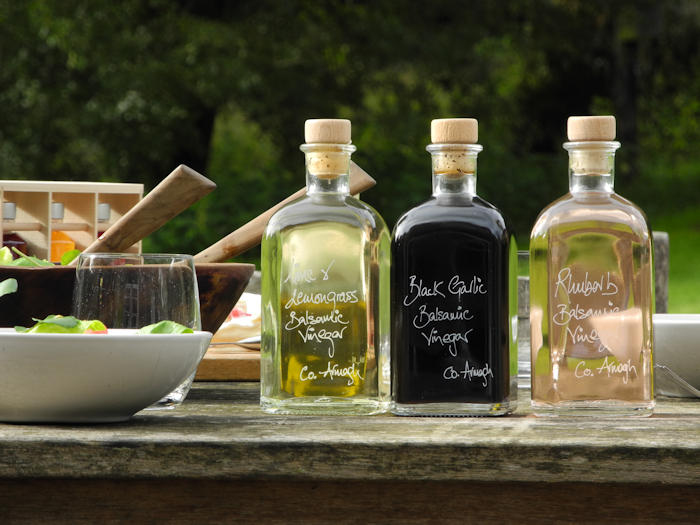 Trio of New Flavoured Balsamic Vinegars