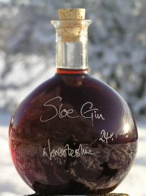 Sloe Gin in a 500ml Strauss bottle