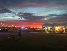 Sunset Over The Big Feastival