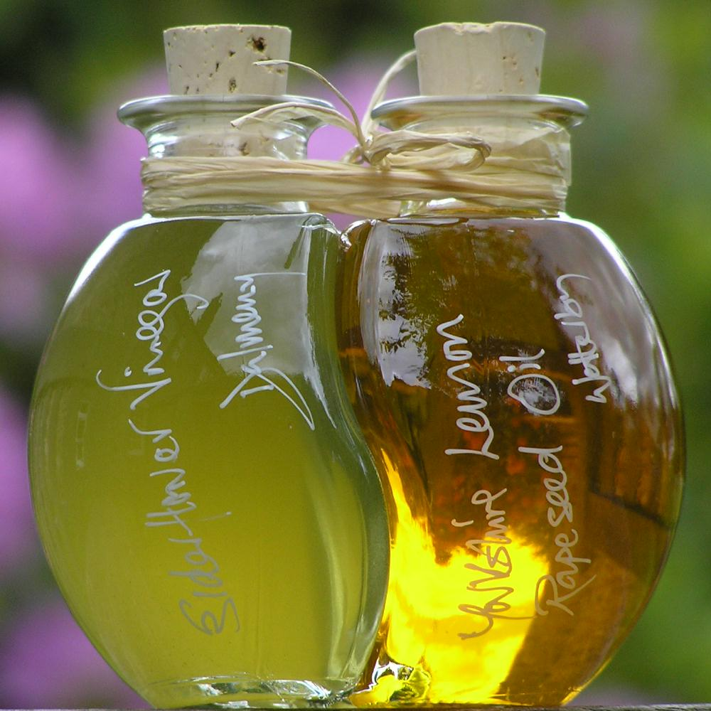 Elderflower Vinegar and Lemon Oil Ball - A fabulous recipe for salads