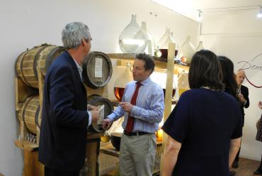 Angus conducting a whisky tasting in our Oxford Shop. Click to book your own personal event.