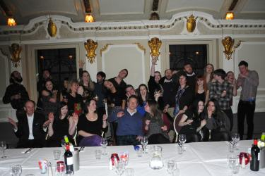 A happy memory of our Demijohn 10th Birthday Party held at Sloans Bar in Glasgow on Tuesday 3rd Feb 2015