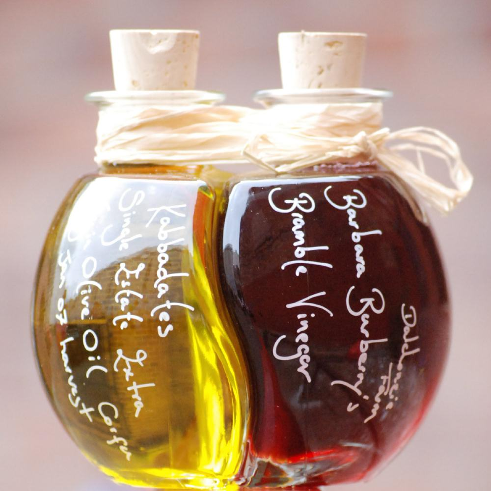 A food lovers Easter gift; our Olive Oil and Fruit Vinegar Ball