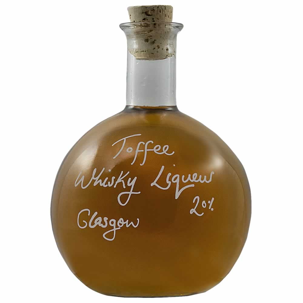 Our smooth new Toffee Whisky Liqueur from Glasgow