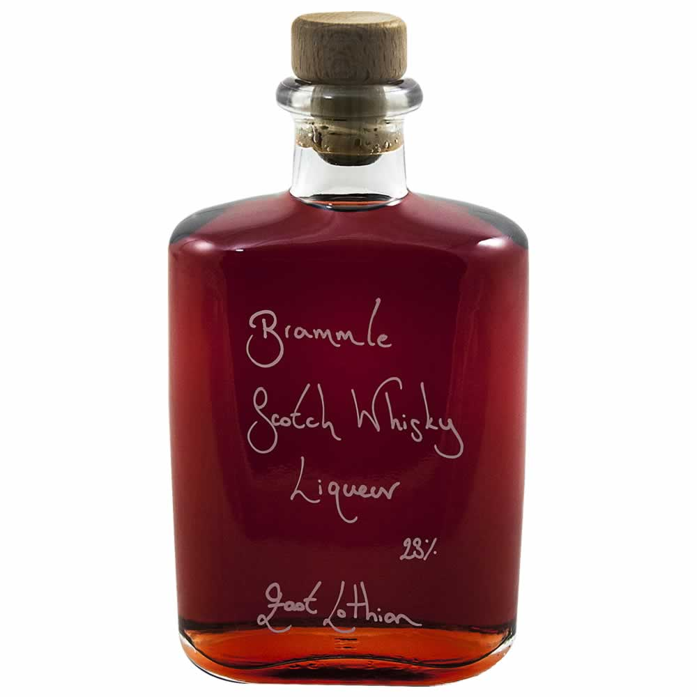 Hipflask of Bramble Scotch Whisky Liqueur 23%