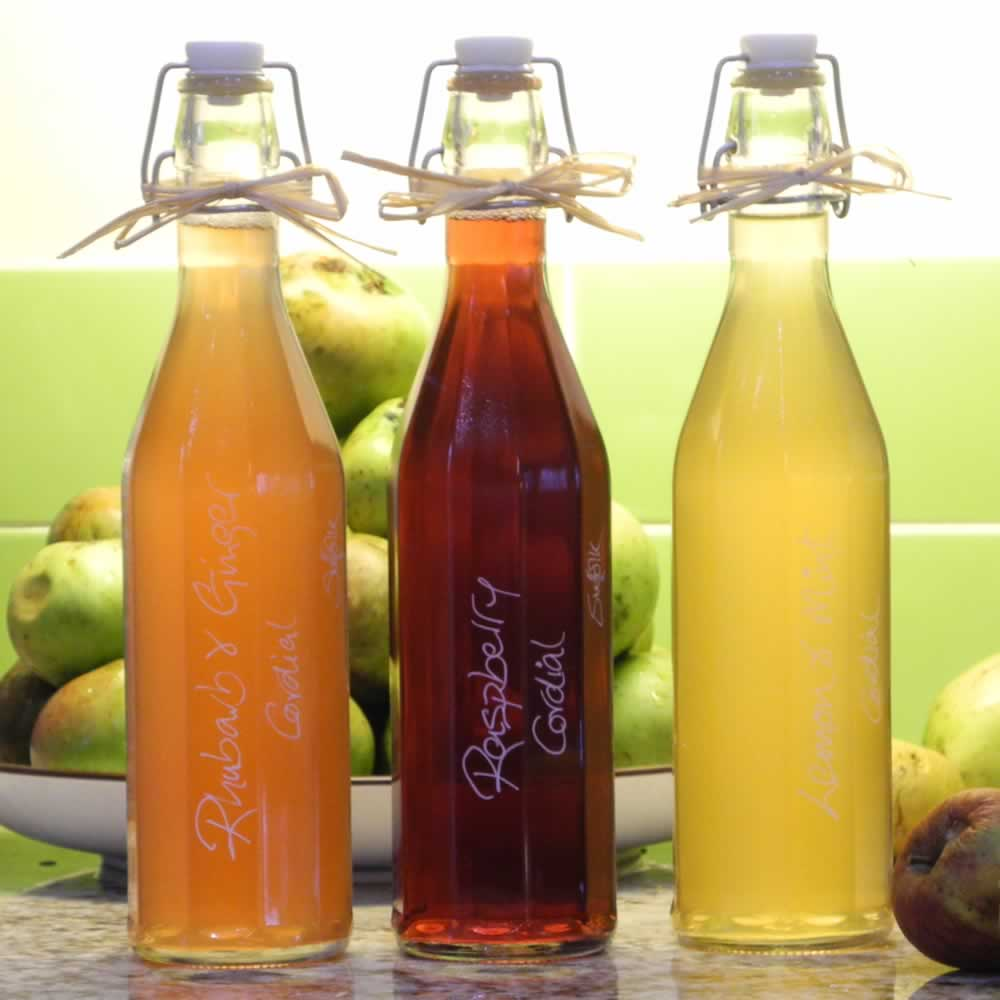 A fresh range of delicious handmade Cordials has arrived