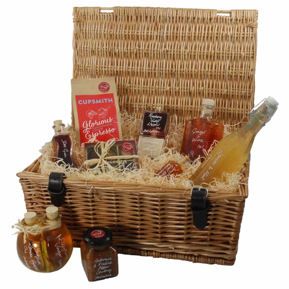 A new range of hampers for Christmas