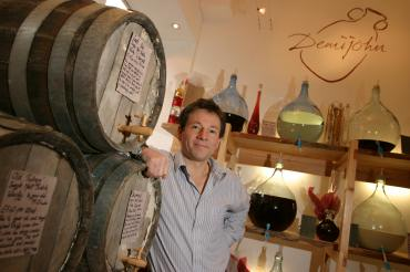 Meet the founder. Angus by his Whisky Octaves in Edinburgh in 2004